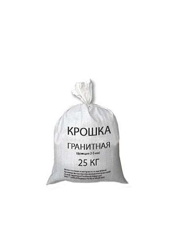 Противогололедный реагент гранитная крошка россыпью по цене от 250р