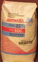 Противогололедный реагент Ratmix Антилед по цене от 395р